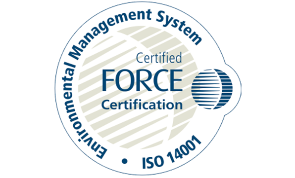 Environmental Management System bevis (ISO 14001)