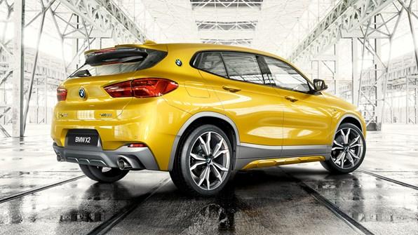 Mere komfort i en BMW X2