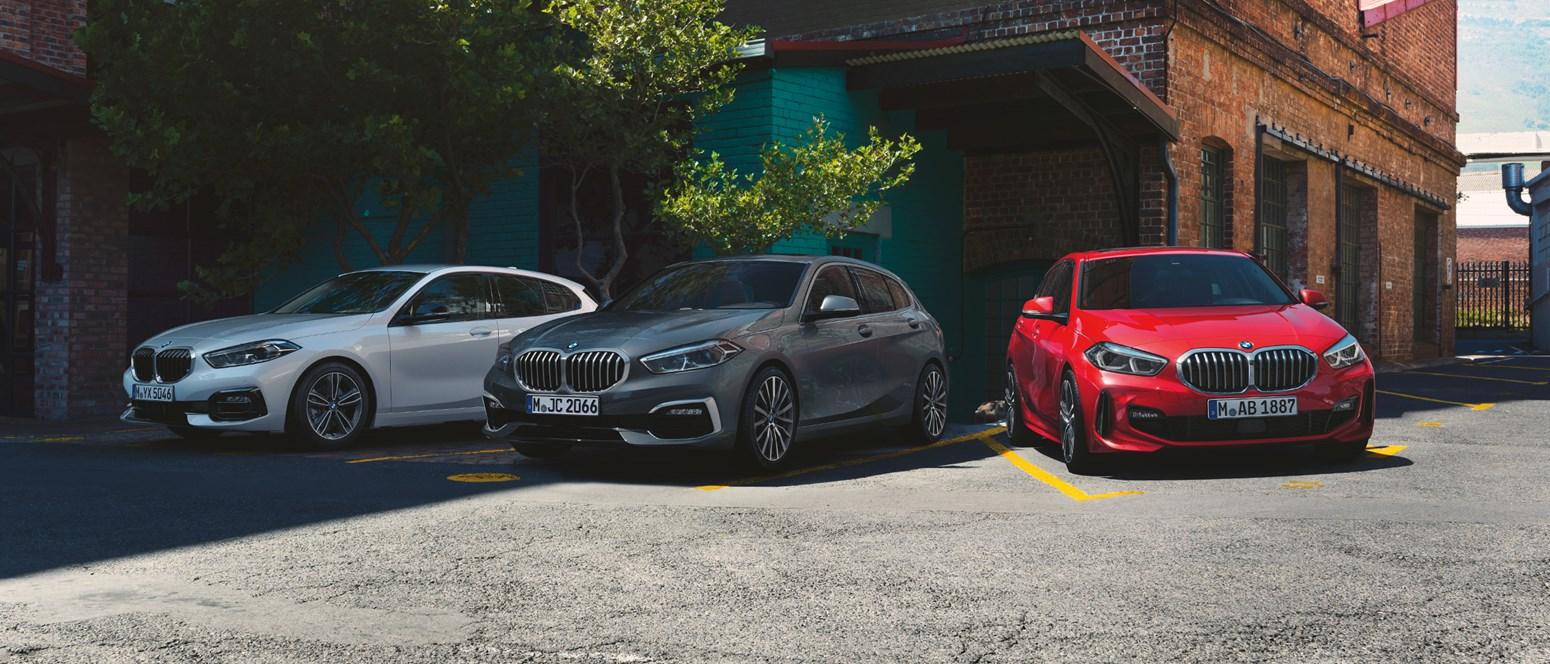 BMW 1-serie Modeller