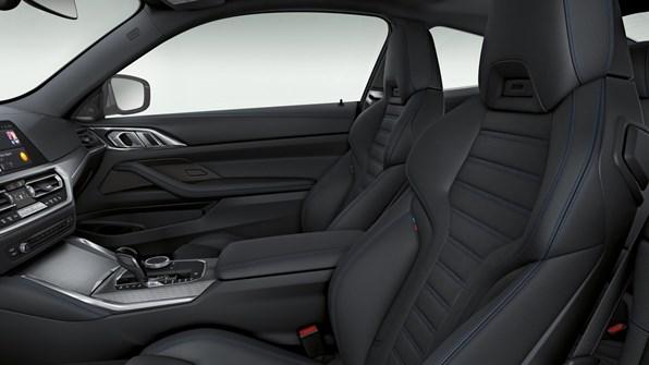 Interiøret i bmw 4-serie coupé